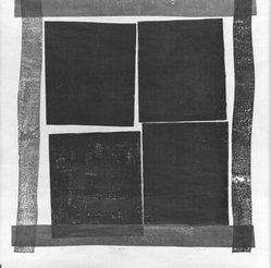 Tetsuo Yamada (Japanese). Four Squares, 1962. Woodblock print on paper, 51 x 43 1/2 in. (129.5 x 110.5 cm). Brooklyn Museum, Carll H. de Silver Fund, 63.117.2. © artist or artist's estate