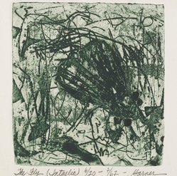 Garner Handy Tullis (American, born 1939). The Fly, 1962. Etching on paper, 7 1/4 x 6 3/4 in. (18.4 x 17.1 cm). Brooklyn Museum, Gift of the artist, 63.156. © artist or artist's estate