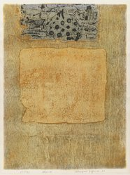 Hirojuki Tajima. Boberg, 1961. Serigraph on paper, 19 1/2 x 14 1/2 in. (49.5 x 36.8 cm). Brooklyn Museum, Carll H. de Silver Fund, 63.68.18. © artist or artist's estate