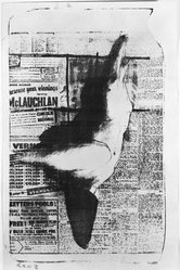 Reginald Butler (British, 1913-1981). Untitled, 1955. Lithograph, 18 x 11 1/8 in. (45.7 x 28.3 cm). Brooklyn Museum, Gift of Mr. and Mrs. Herbert M. Rothschild, 64.251. © artist or artist's estate