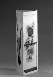 Juan Gomez-Quiroz (American, born Chile, 1939). Machine to Hunt Stars, 1965. Etching Brooklyn Museum, Frederick Loeser Fund, 65.163. © artist or artist's estate