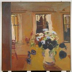Robert Dash (American, born 1934). Elizabeth Street, 1965. Oil on canvas, 60 x 60 in. (152.4 x 152.4 cm). Brooklyn Museum, Gift of the Junior Members of the Brooklyn Museum 1965-66, 66.79. © artist or artist's estate