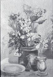 Anna Scharsu (American, 1901-1983). Happy Days, 1948. Oil on canvas Brooklyn Museum, Bequest of Laura L. Barnes, 67.24.32. © artist or artist's estate