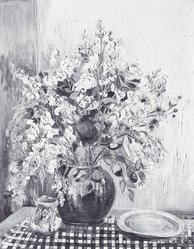 Anna Scharsu (American, 1901-1983). Garden Fresh, 1949. Oil on canvas Brooklyn Museum, Bequest of Laura L. Barnes, 67.24.33. © artist or artist's estate