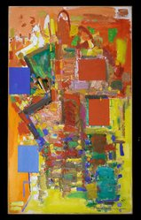 Hans Hofmann (American, 1880-1966). Towering Spaciousness, 1956. Oil on canvas, 84 1/4 x 50 in. (214 x 127 cm). Brooklyn Museum, Gift of William Sachs, 68.51. © artist or artist's estate