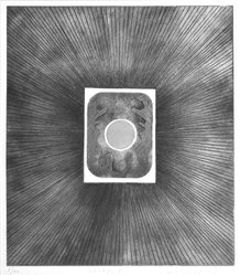 Loty Blanchard (French). Sortileges 11, 1967. Intaglio on paper, 17 x 14 3/4 in. (43.2 x 37.5 cm). Brooklyn Museum, Gift of the artist, 68.56.2. © artist or artist's estate