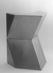 Ursula Meyer (American, 1915-2003). Model for Phoenix, 1967, 1967. Stainless steel, 8 x 12 1/4 x 11 1/4in. (20.3 x 31.1 x 28.6cm). Brooklyn Museum, Gift of the artist, 71.123.1-.2. © artist or artist's estate