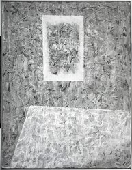Jimmy Ernst (American, 1920-1984). Non-Fiction, 1950. Oil on canvas, 42 3/4 x 32 3/4 in. (108.6 x 83.2 cm). Brooklyn Museum, Gift of Mr. and Mrs. Warren Brandt, 71.169.1. © artist or artist's estate