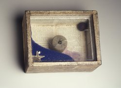 Joseph Cornell (American, 1903-1972). Starfish, 1954. Mixed media: wooden box covered with glass panes revealing contents consisting of objects, both natural and manmade, 10 1/8 x 7 7/8 x 3 1/2 in. (25.7 x 20 x 8.9 cm). Brooklyn Museum, Gift of Mr. and Mrs. Alastair B. Martin, the Guennol Collection, 71.17. © artist or artist's estate