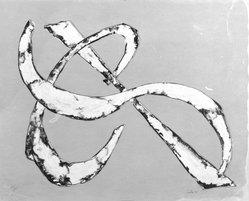 Herbert Ferber (American, 1917-1992). Untitled, 1970. Screen print, 21 x 26 in. (53.3 x 66 cm). Brooklyn Museum, Bristol-Myers Fund, 71.27.2. © artist or artist's estate