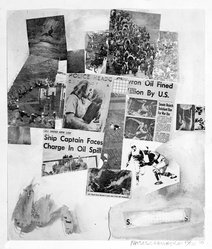 Robert Rauschenberg (American, 1925-2008). Untitled, 1970. Screen print on paper, sheet: 26 x 21 in. (66 x 53.3 cm). Brooklyn Museum, Bristol-Myers Fund, 71.27.9. © artist or artist's estate