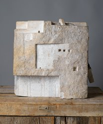 Gonzalo Fonseca (Uruguayan, 1922-1997). Agriope's Room, 1968. Marble, 12 1/2 x 13 13/16 x 10 7/8 in. (31.8 x 35.1 x 27.6 cm). Brooklyn Museum, Purchased with funds given by an anonymous donor, 71.55. © artist or artist's estate