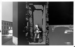 Ronald B. Kitaj (American, born 1932). Outlying London Districts I, 1971. Screenprint, Sheet: 26 x 42 3/8 in. (66 x 107.6 cm). Brooklyn Museum, National Endowment for the Arts and Bristol-Myers Fund, 72.118. © The Estate of R.B. Kitaj, courtesy Marlborough Gallery, New York