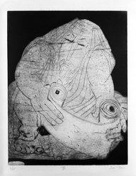 Ben-Zion (Benzion Weinman) (American, 1897-1987). Prophets, ca. 1955. six etchings Brooklyn Museum, Gift of Leon Pomerance, 73.160.4a-t. © artist or artist's estate