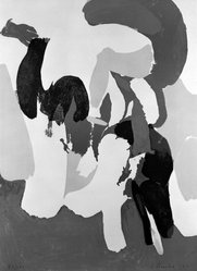 James Brooks (American, 1906-1992). The Springs, 1971. Color lithograph on paper, 30 x 22 in. (76.2 x 55.9 cm). Brooklyn Museum, Gift of Mr. and Mrs. Samuel Dorsky, 74.178.10. © artist or artist's estate