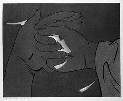 Stanton Macdonald-Wright (American, 1890-1973). In the Hand the Fire Fly Makes a Cold Brilliance, 1966-1967. Woodcut, Sheet: 17 15/16 x 21 7/16 in. (45.6 x 54.5 cm). Brooklyn Museum, Anonymous gift, 74.181.18. © artist or artist's estate