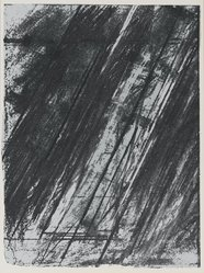 Cy Twombly (American, 1922-2011). [Untitled], 1973. Color lithograph and serigraph, Sheet: 11 15/16 x 8 15/16 in. (30.3 x 22.7 cm). Brooklyn Museum, Gift of Theodore Kheel, 76.205.28. © artist or artist's estate