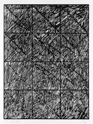 Vincent Longo (American, born 1923). Second Cut, 1974. Woodcut on paper, sheet: 30 x 23 in. (76.2 x 58.4 cm). Brooklyn Museum, Designated Purchase Fund, 77.20b. © artist or artist's estate