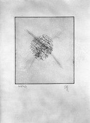 Donald Saff (American, born 1937). Custer, 1976. Intaglio (phenolic, glue, solvent), sheet: 29 7/8 x 22 1/4 in. (75.9 x 56.5 cm). Brooklyn Museum, Gift of the artist, 77.72.3. © artist or artist's estate