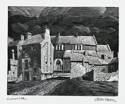 John DePol (American, 1913-2004). Limerick, 1977. Wood engraving, Sheet: 11 x 8 1/2 in. (27.9 x 21.6 cm). Brooklyn Museum, Gift of Don Wesely, 78.101.59.5. © artist or artist's estate