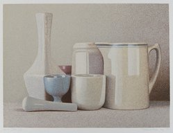 Richard Davis (American, born 1947). Still Life, 1977. Color serigraph, Sheet: 15 x 18 in. (38.1 x 45.7 cm). Brooklyn Museum, Designated Purchase Fund, 78.104. © artist or artist's estate