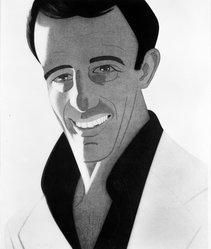 Alex Katz (American, born 1927). Self Portrait, 1978. Aquatint, 35 13/16 x 29 13/16 in. (91 x 75.8 cm). Brooklyn Museum, Designated Purchase Fund, 79.153.3. © artist or artist's estate
