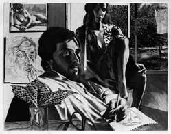 David Bumbeck (American, born 1941). John, 1979. Photo-etching, etching and aquatint, Image: 14 3/4 x 18 3/4 in. (37.5 x 47.6 cm). Brooklyn Museum, Designated Purchase Fund, 79.154.2. © artist or artist's estate