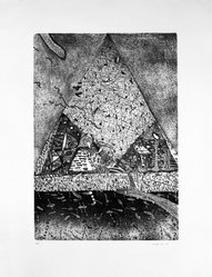 Michael McGowan (American, born 1952). Untitled, 1978. Etching on paper, sheet: 23 1/8 x 18 1/4 in. (58.7 x 46.4 cm). Brooklyn Museum, Designated Purchase Fund, 79.65.3. © artist or artist's estate