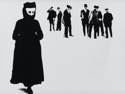 Mario Giacomelli (Italian, 1925-2000). [Untitled], n.d. Gelatin silver photograph, Sheet: 11 5/8 x 15 7/16 in. (29.5 x 39.2 cm). Brooklyn Museum, Gift of Dr. Daryoush Houshmand, 80.216.15. © Simone Giacomelli