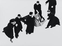 Mario Giacomelli (Italian, 1925-2000). [Untitled], 1968. Gelatin silver photograph, sheet: 11 1/2 x 15 7/16 in. (29.2 x 39.2 cm). Brooklyn Museum, Gift of Dr. Daryoush Houshmand, 80.216.19. © Simone Giacomelli