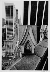 Harry Wilks (American, born 1942). View from 130 W.42, 1979. Gelatin silver photograph Brooklyn Museum, Gift of Matilda and Phillip Zinn, 80.305.3. © Harry Wilks