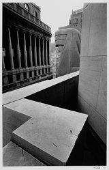 Harry Wilks (American, born 1942). 20 Exchange Place, 1979. Gelatin silver photograph Brooklyn Museum, Gift of Matilda and Phillip Zinn, 80.305.4. © Harry Wilks
