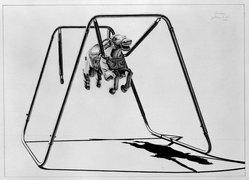 James Torlakson (American, born 1951). Bondage, 1980. Graphite on paper, image: 25 5/16 x 35 5/16 in. (64.3 x 89.7 cm). Brooklyn Museum, Designated Purchase Fund, 80.63. © artist or artist's estate