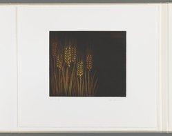 Kazuhisa Honda. Silence, 1981. Mezzotint, Folio: 10 5/8 x 12 1/16 in. (27 x 30.6 cm). Brooklyn Museum, Gift of Gene Baro, 81.137.7. © artist or artist's estate