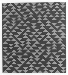 Anni Albers (American, 1899-1994). Triangulated Intaglios III, 1976. Etching, aquatint on paper, Sheet: 24 x 20 in. (61 x 50.8 cm). Brooklyn Museum, Gift of Studebaker-Worthington, Inc., 81.24.5. © artist or artist's estate