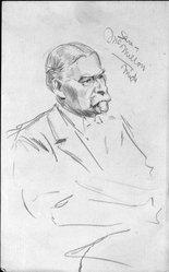 Haydon Jones (American, 1870-1953). [Untitled], n.d. Graphite on paper, Sheet: 8 x 4 15/16 in. (20.3 x 12.5 cm). Brooklyn Museum, Gift of  Dr. and Mrs. Harold C. Menger, 82.149.4. © artist or artist's estate