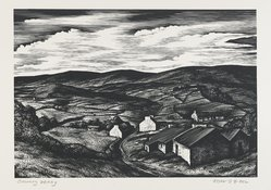 John DePol (American, 1913-2004). County Derry, 1959. Wood engraving Brooklyn Museum, Gift of Mr. and Mrs. Peter P. Pessutti, 82.204.2. © artist or artist's estate