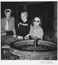Arthur Rothstein (American, 1915-1985). Gamblers, Las Vegas, Nevada, 1937. Gelatin silver photograph, Sheet: 14 x 10 7/8 in. (35.6 x 27.6 cm). Brooklyn Museum, Gift of Robert Smith, 82.256.17. © artist or artist's estate