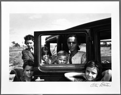 Arthur Rothstein (American, 1915-1985). Migrant family, Oklahoma, 1936. Gelatin silver photograph Brooklyn Museum, Gift of Robert Smith, 82.256.4. © artist or artist's estate