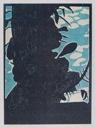 John Overton (American, born Detroit, Michigan, 1948). Back to the Islands, 1977. Xerox print on paper, sheet: 12 x 8 1/8 in. (30.5 x 20.6 cm). Brooklyn Museum, Frank L. Babbott Fund, 82.55.1. © artist or artist's estate