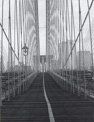 Frank Spadarella (American, born 1925). Brooklyn Bridge, 1980. Gelatin silver photograph Brooklyn Museum, Gift of Ida and Frank Spadarella, 83.78.1. © artist or artist's estate