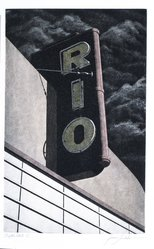 James Torlakson (American, born 1951). Rio, 1983. Hand-colored aquatint etching on paper, sheet: 14 1/2 x 9 7/8 in. (36.8 x 25.1 cm). Brooklyn Museum, Gift of Torlakson Fine Art, 83.79. © artist or artist's estate
