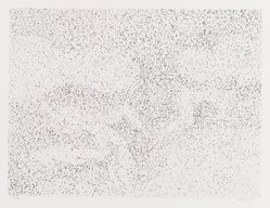 David Kremgold (American, born 1944). The Figure in Landscape, 1984. Lithograph on white wove paper, Sheet: 12 3/8 x 14 3/16 in. (31.5 x 36.1 cm). Brooklyn Museum, Gift of Ronald T. Kraver, 84.228.4. © artist or artist's estate
