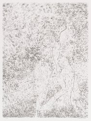 David Kremgold (American, born 1944). The Figure in Landscape, 1984. Lithograph on white wove paper, Sheet: 14 3/8 x 12 5/16 in. (36.5 x 31.2 cm). Brooklyn Museum, Gift of Ronald T. Kraver, 84.228.5. © artist or artist's estate