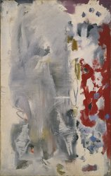 Mark Rothko (American, born Russia, 1903-1970). Untitled, 1947. Oil on canvas, 43 7/8 x 27 3/4 in. (111.4 x 70.5 cm). Brooklyn Museum, Gift of The Mark Rothko Foundation, Inc., 85.289.2. © artist or artist's estate