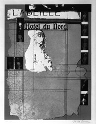 Joseph Cornell (American, 1903-1972). Hotel du Nord, mid 20th century. Lithograph Brooklyn Museum, Gift of John and Paul Herring, 86.295.3. © artist or artist's estate