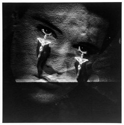 Bruce Cratsley (American, 1944-1998). Elvis Teardrops, N.Y.C., 1985, 1985. Selenium-toned gelatin silver photograph, sheet: 9 1/4 x 9 1/4 in. (23.5 x 23.5 cm). Brooklyn Museum, Gift of the artist, 86.96.2. © artist or artist's estate