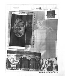 Robert Rauschenberg (American, 1925-2008). Paris Review (poster), 1965. Off-set lithograph on paper, sheet: 25 1/4 x 21 in. (64.1 x 53.3 cm). Brooklyn Museum, Gift of Mr. and Mrs. Robert T. Buck, 87.241. © artist or artist's estate