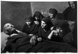 W. Eugene Smith (American, 1918-1978). The Wake, 1950. Gelatin silver photograph, Sheet: 11 x 13 in. (27.9 x 33 cm). Brooklyn Museum, Gift of Philip Goutell, 87.245.55. © W. Eugene Smith