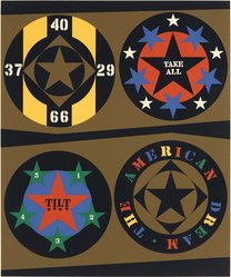 Robert Indiana (American, born 1928). 1960:  The American Dream I, 1971. Serigraph, Sheet: 39 x 32 in. (99.1 x 81.3 cm). Brooklyn Museum, Anonymous gift, 88.170.11. © artist or artist's estate